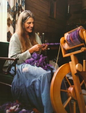 Fiber Artist Carol Ann Rak at Bountiful Loom